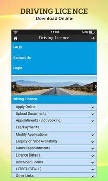 application to upgrade driving licence