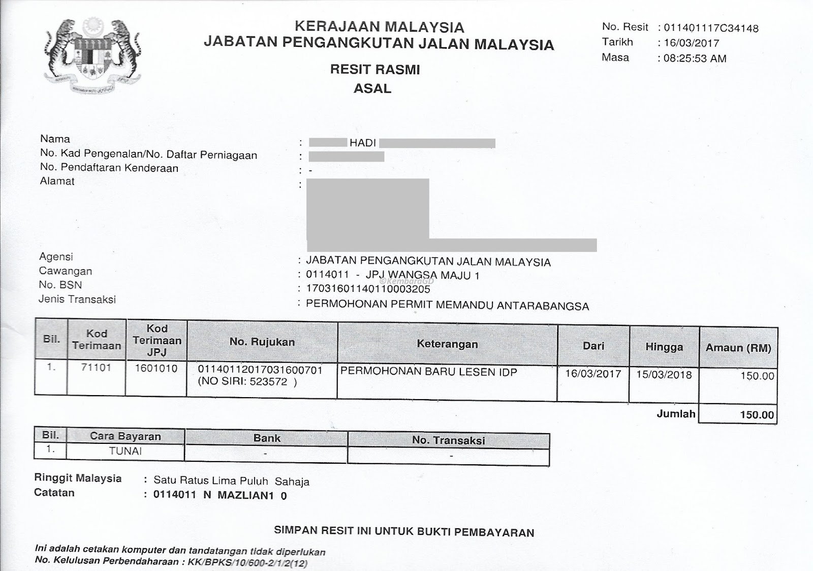 application for international driving permit