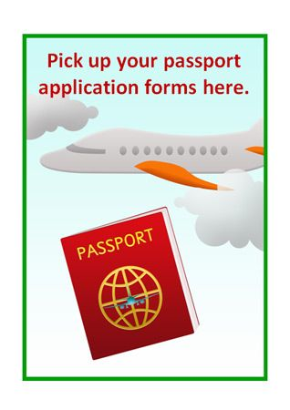 post office identity card application form