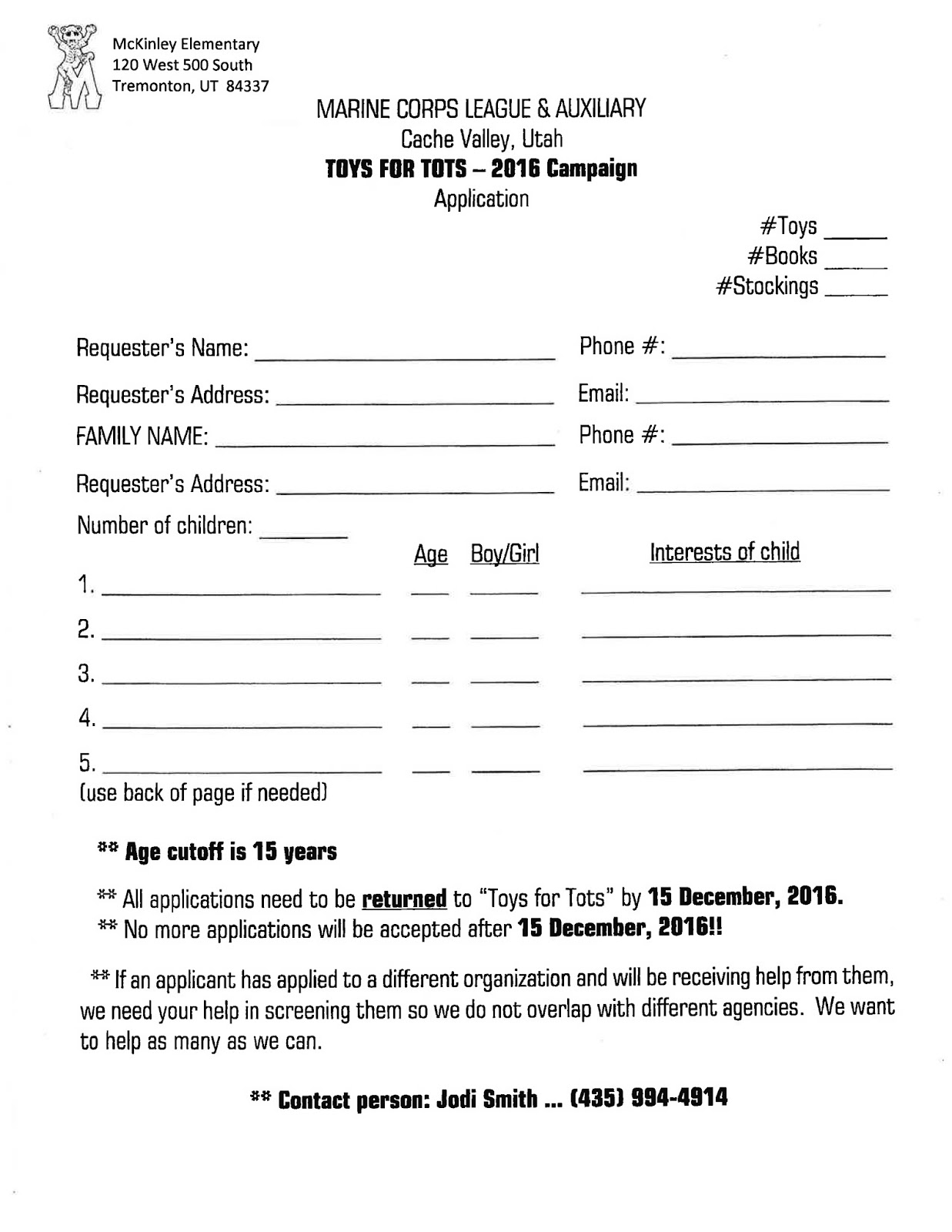 toys for tots 2017 application