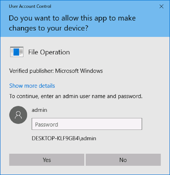 consent ui for administrative applications windows 10