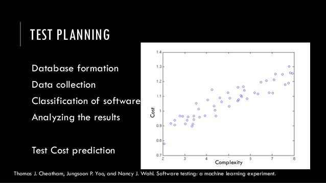 novel applications of machine learning in software testing