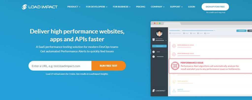 load testing tools for web applications