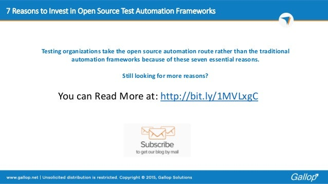 automated web application monitoring solution open source