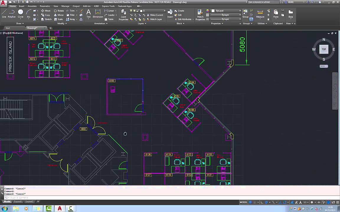 autocad application has stopped working