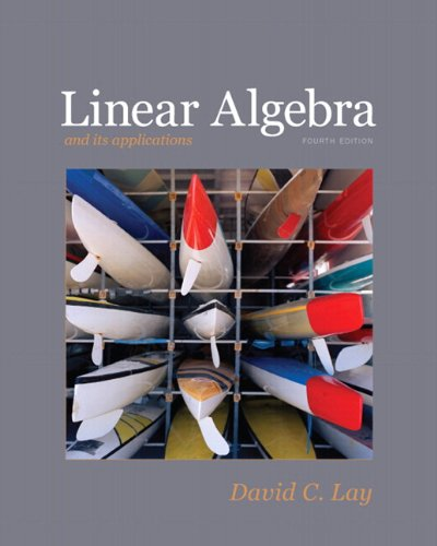 linear algebra and its applications 5th edition solutions manual pdf