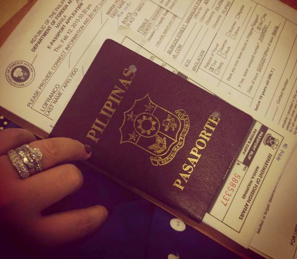 online application for renewal of philippine passport