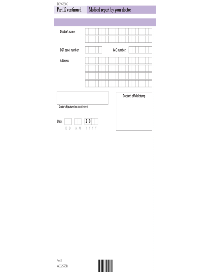 disability questions on application forms