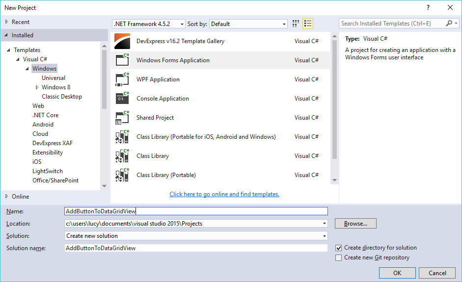 how to add new row in datagridview c# windows application