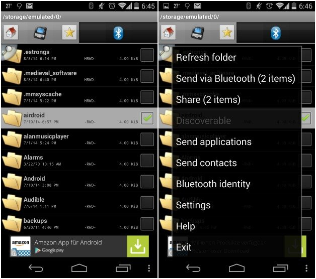 how to import excel file in android application